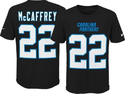 110bf0c6c Nike Youth Carolina Panthers Christian McCaffrey  22 Pride Black T-Shirt.  noImageFound