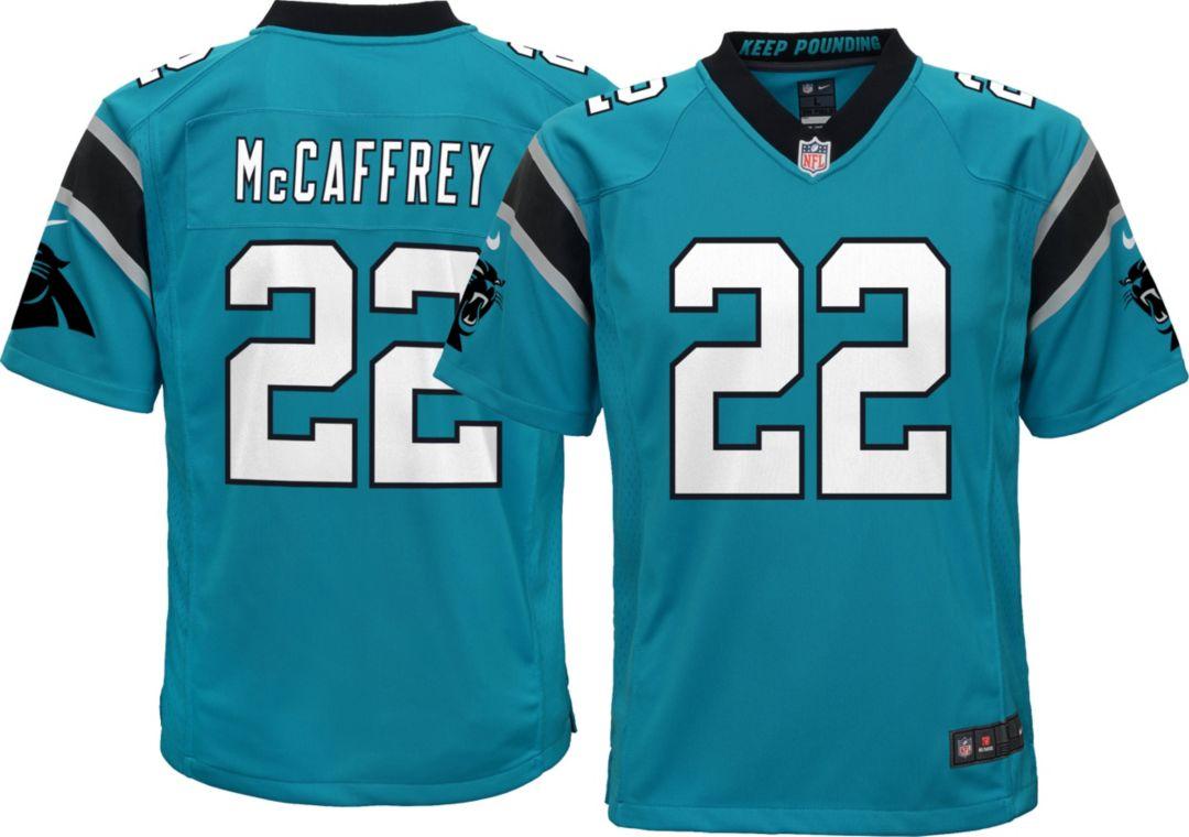 buy popular 31bdc 69157 Nike Youth Alternate Game Jersey Carolina Panthers Christian McCaffrey #22
