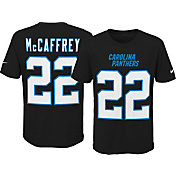 Nike Youth Carolina Panthers Christian McCaffrey #22 Pride Black T-Shirt