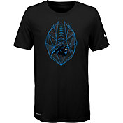 Nike Youth Carolina Panthers Icon Performance Black T-Shirt