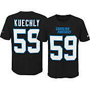 Nike Youth Carolina Panthers Luke Kuechly #59 Pride Black Player T-Shirt