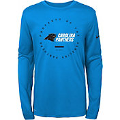 Nike Youth Carolina Panthers Property Of Long Sleeve Blue Shirt