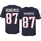 Nike Youth New England Patriots Rob Gronkowski #87 Pride Navy Player T-Shirt