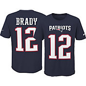 Nike Youth New England Patriots Tom Brady #12 Pride Navy T-Shirt