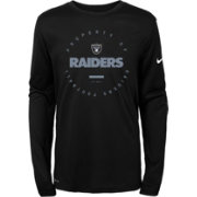 Nike Youth Oakland Raiders Property Of Long Sleeve Black Shirt