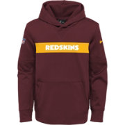 Nike Youth Washington Redskins Sideline Therma-FIT Red Pullover Hoodie