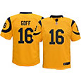 Nike Youth Color Rush Game Jersey Los Angeles Rams Jared Goff #16