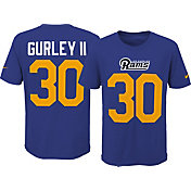 Nike Youth Los Angeles Rams Todd Gurley #30 Pride Royal T-Shirt