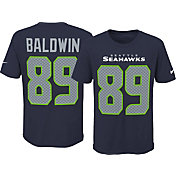 Nike Youth Seattle Seahawks Doug Baldwin #89 Pride Navy T-Shirt