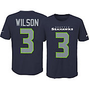 Nike Youth Seattle Seahawks Russell Wilson #3 Pride Navy T-Shirt