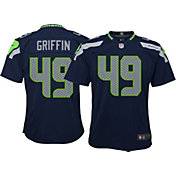 Shaquem Griffin #49 Nike Youth Seattle Seahawks Home Game Jersey