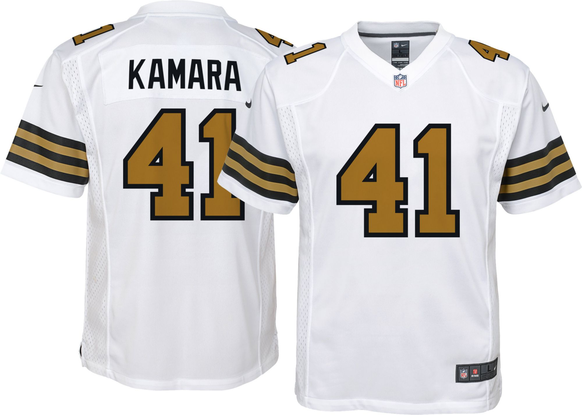 saints jersey color rush