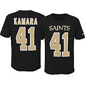 Nike Youth New Orleans Saints Alvin Kamara #41 Pride Black T-Shirt
