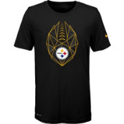 f77a3874937 Nike Youth Pittsburgh Steelers Icon Performance Black T-Shirt ...
