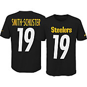 Nike Youth Pittsburgh Steelers JuJu Smith-Schuster #19 Pride Black T-Shirt