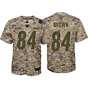 1d586d95aa6 Product Image · Nike Youth Salute to Service Pittsburgh Steelers Antonio  Brown  84 Camouflage Game Jersey