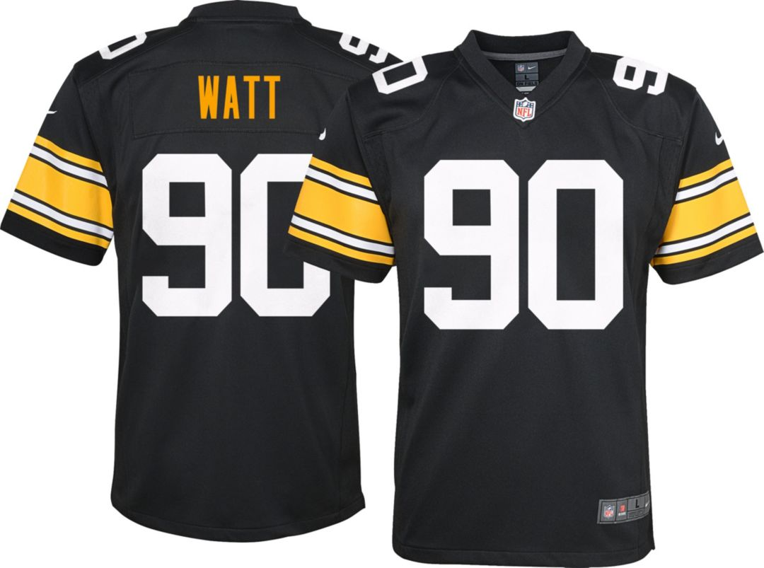 purchase cheap 504ef c87c4 Nike Youth Alternate Game Jersey Pittsburgh Steelers T.J. Watt #90