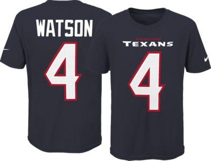 f4cdb321c Nike Youth Houston Texans Deshaun Watson  4 Pride Navy Player T-Shirt.  noImageFound