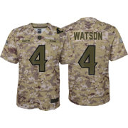 d5c849235 Nike Youth Salute to Service Houston Texans Deshaun Watson  4 Camouflage  Home Game Jersey