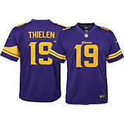 Nike Youth Color Rush Game Jersey Minnesota Vikings Adam Thielen #19