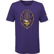 Nike Youth Minnesota Vikings Icon Performance Purple T-Shirt