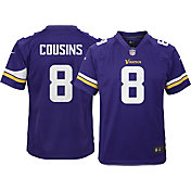 Nike Youth Home Game Jersey Minnesota Vikings Kirk Cousins #8