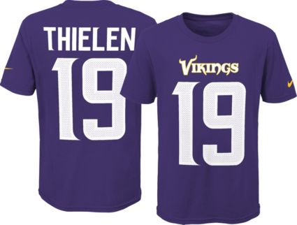 Nike Youth Minnesota Vikings Adam Thielen  19 Pride Purple Player T-Shirt.  noImageFound ed02c543d