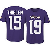 Nike Youth Minnesota Vikings Adam Thielen #19 Pride Purple Player T-Shirt