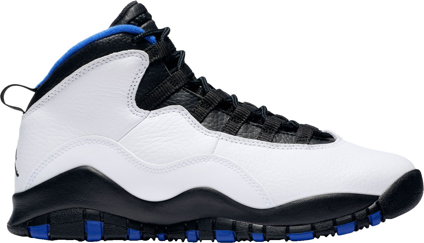 cb6a1879409 Jordan Kids' Grade School Air Jordan Retro 10 Basketball Shoes ...