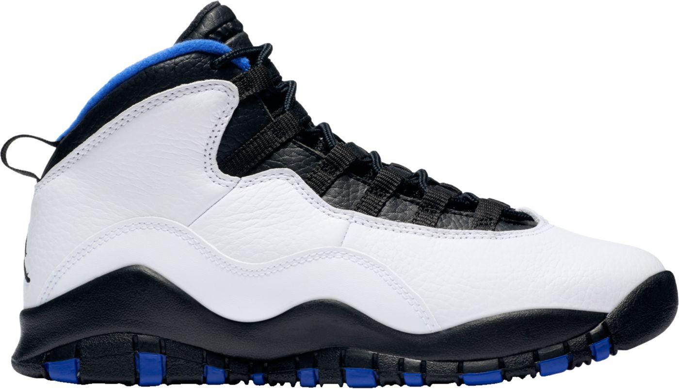Jordan Kids' Grade School Air Jordan Retro 10 Basketball Shoes