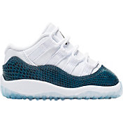 wholesale dealer 666c4 ebb39 Product Image · Jordan Toddler Air Jordan Retro 11 Low Basketball Shoes.  White Black Navy