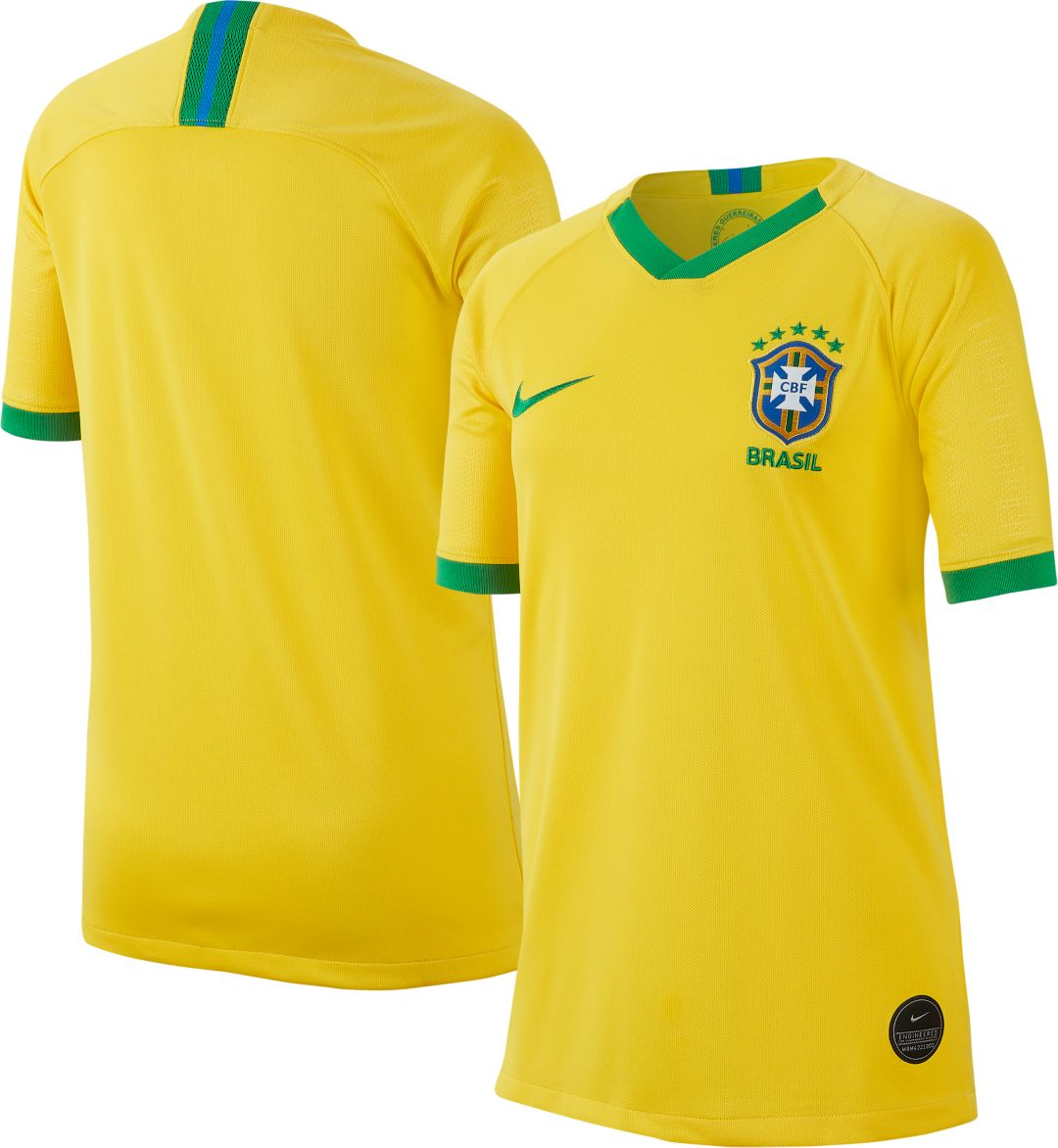 innovative design 2afb7 7ed89 Nike Youth 2019 FIFA Women's World Cup Brazil Breathe Stadium Home Replica  Jersey
