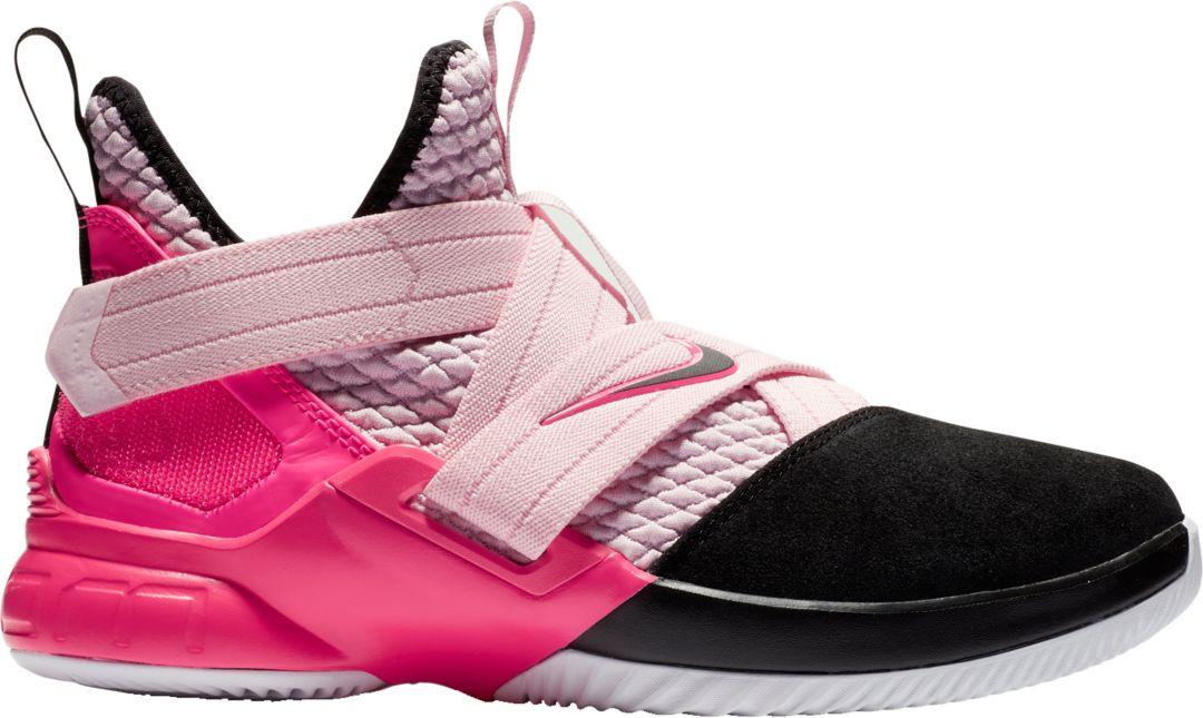 huge discount 97810 6f80d Nike Kids' Grade School LeBron Soldier 12 Basketball Shoes