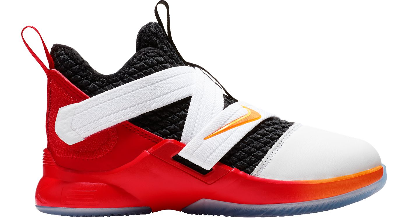 Nike Kids' Grade School LeBron Soldier 12 Basketball Shoes