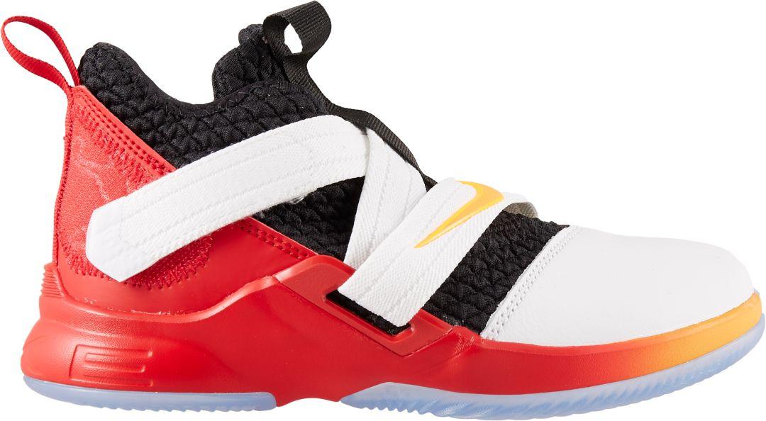 sale retailer c374e 437b5 Nike Kids' Preschool LeBron Soldier XII Basketball Shoes