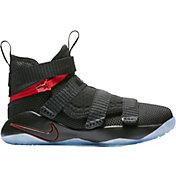 Nike Kids' Preschool LeBron Soldier XI Flyease Basketball Shoes