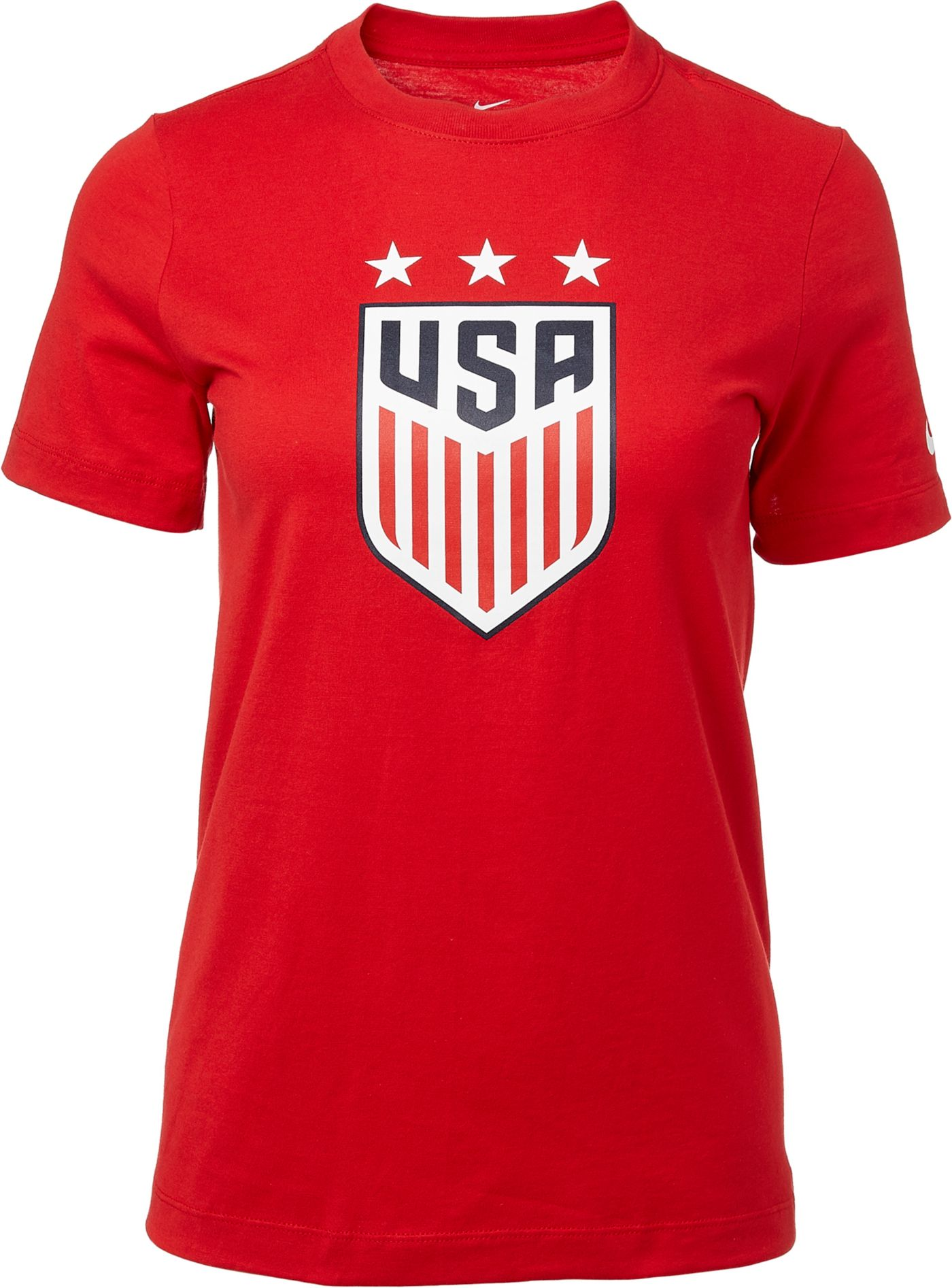 Nike Youth 2019 FIFA Women's World Cup USA Soccer Crest Red T-Shirt