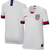 Nike Youth 2019 FIFA Women's World Cup USA Soccer Breathe Stadium Home Replica Jersey