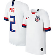 Nike Youth 2019 FIFA Women's World Cup USA Soccer Mallory Pugh #2 Breathe Stadium Home Replica Jersey