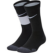Nike Youth Elite Basketball Crew Socks - 2 Pack