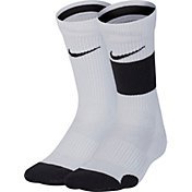 Nike Youth Elite Basketball Crew Socks 2 Pack