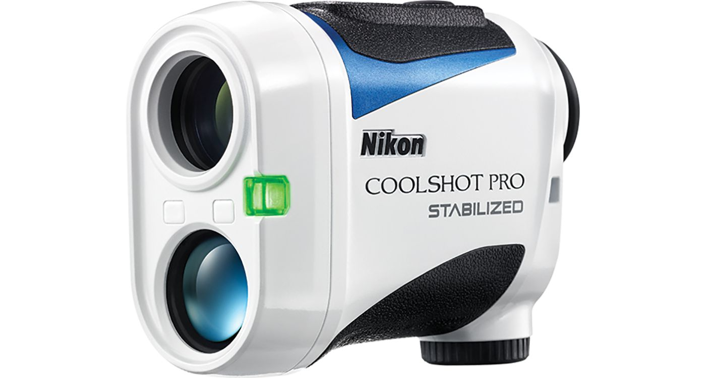 Nikon COOLSHOT PRO STABILIZED Golf Laser Rangefinder