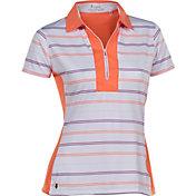 Nancy Lopez Women's Crystal Short Sleeve Golf Polo