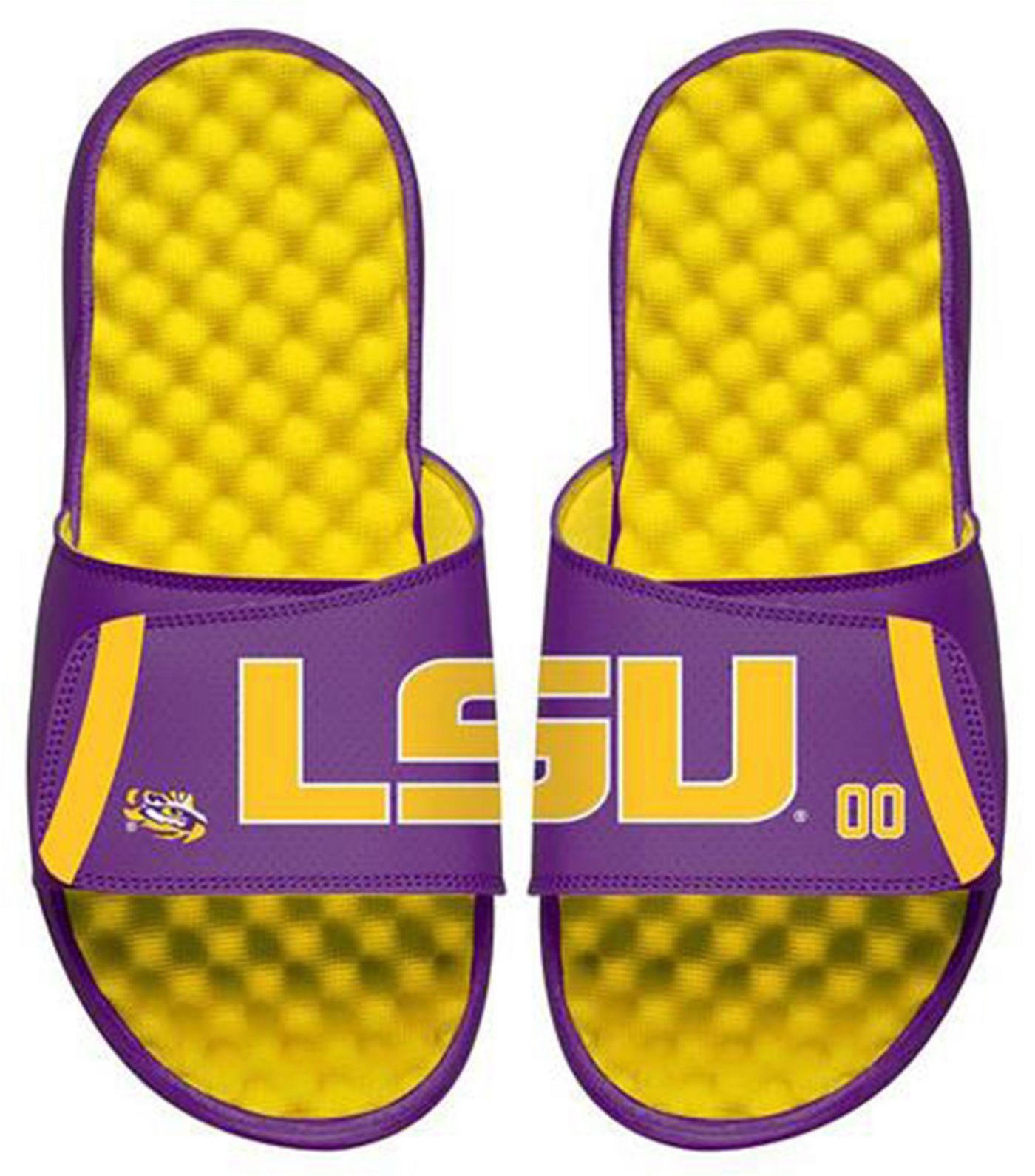 ISlide LSU Tigers Logo Slide Sandals