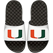 ISlide Miami Hurricanes Logo Slide Sandals
