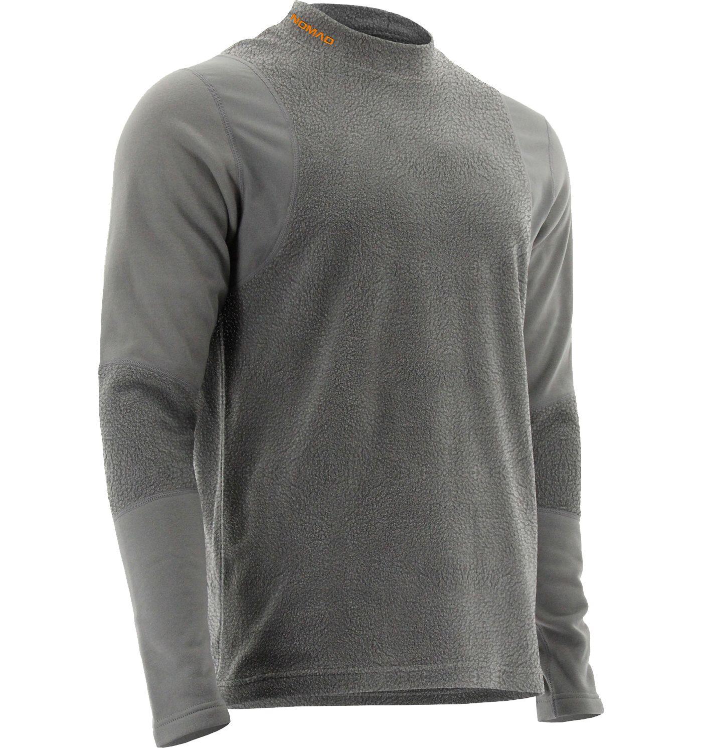 NOMAD Men's Cottonwood Baselayer Crewneck Shirt