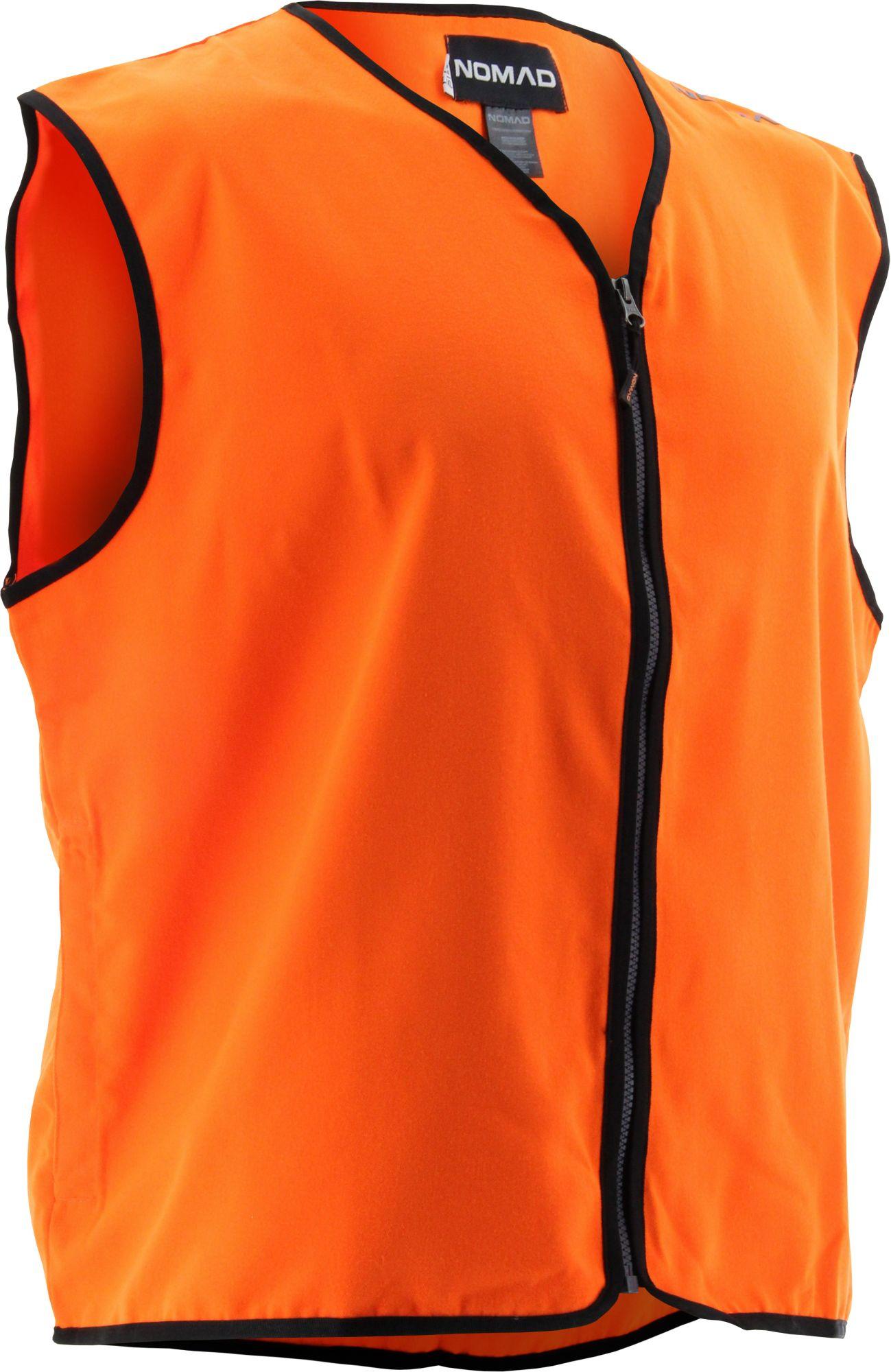 NOMAD Men's Blaze Hunting Vest, Size: L/XL, Blaze Orange thumbnail