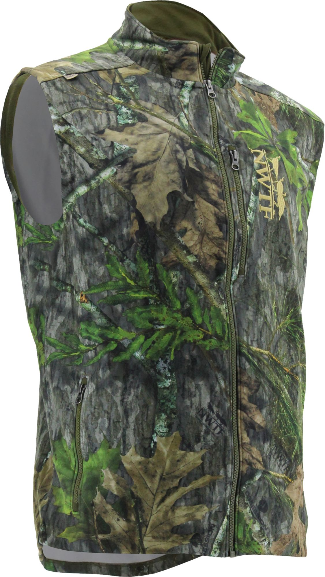 Nomad Men's Nwtf Fleece Vest, Size: Medium, Green thumbnail
