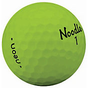 Noodle 2018 Neon Golf Balls – Matte Lime