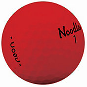 Noodle 2018 Neon Golf Balls ? Matte Red